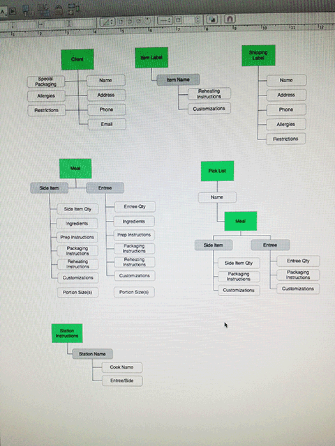 Preliminary Data Structure Document