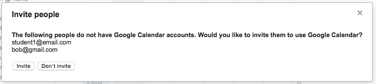 Add non gmail email accounts to google calendar